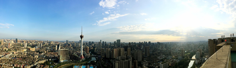 成华区鸟瞰全景1